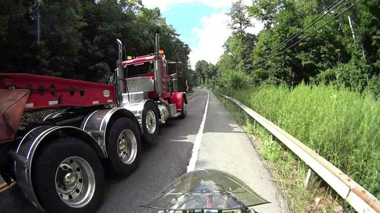 Rt 376 SB - semitrailer