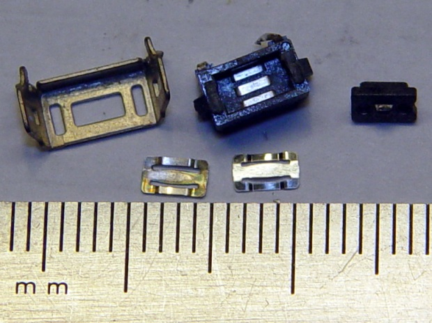 Kindle Fire - disassembled power switch