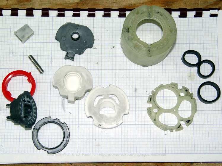 American Standard Faucet - disassembled