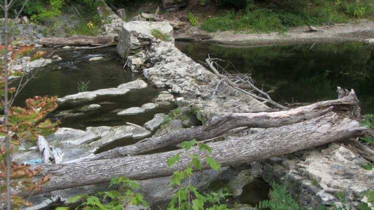 Wappinger Creek - Red Oaks Mill Dam - 2016-09-23