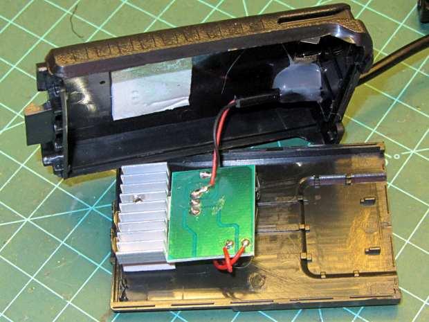 Baofeng Battery Eliminator - interior