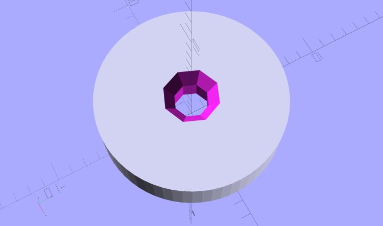 Ruler Adapter - solid model