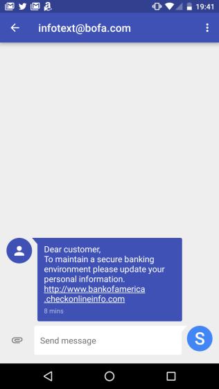 BofA Phishing