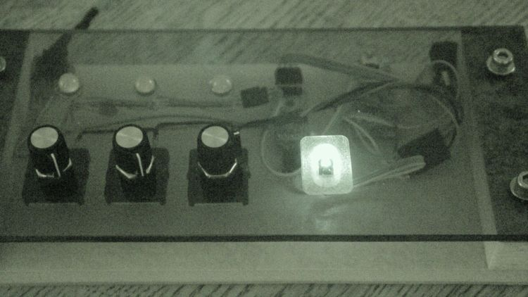 Color mixer - controls - IR image