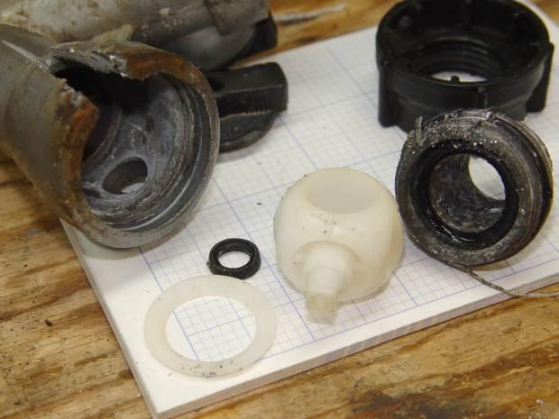 Gilmour hose Y valve - parts