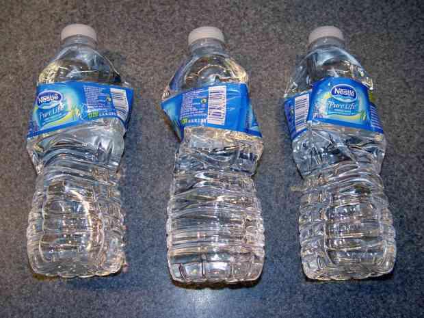 Bottled Water Evaporation