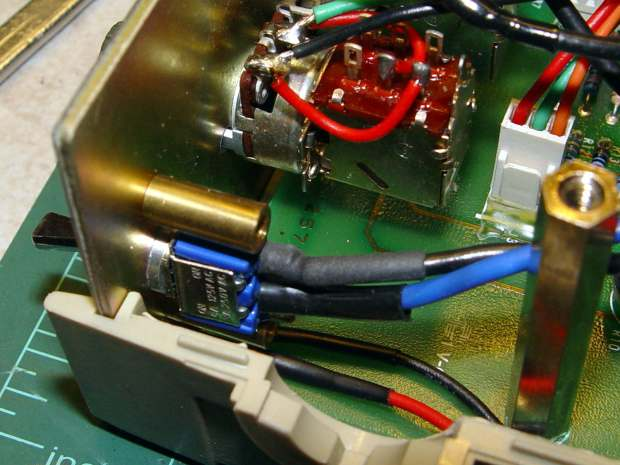 Fordham FG-801 Fn Gen - power switch - installed
