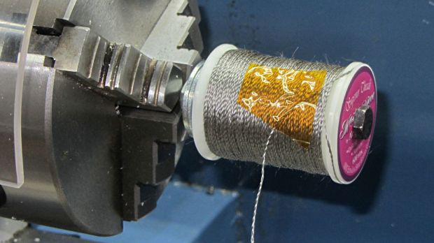 Stainless steel thread - second spool