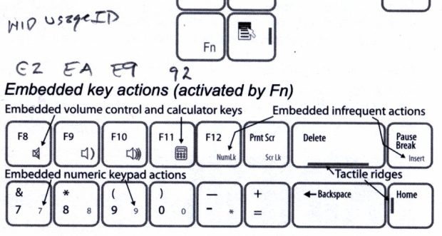 Kinesis Freestyle2 - inert key codes