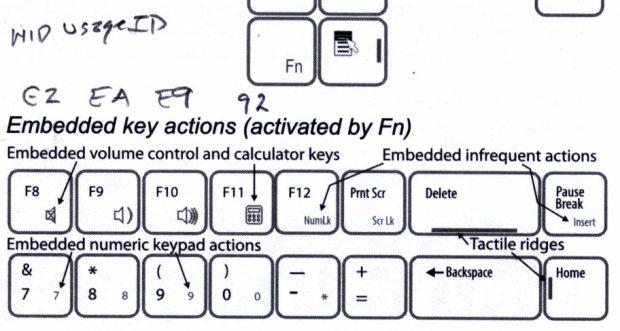 Kinesis Freestyle2 - inert key codes