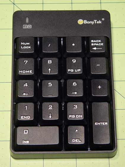 BonyTek Wireless USB Numeric Keypad