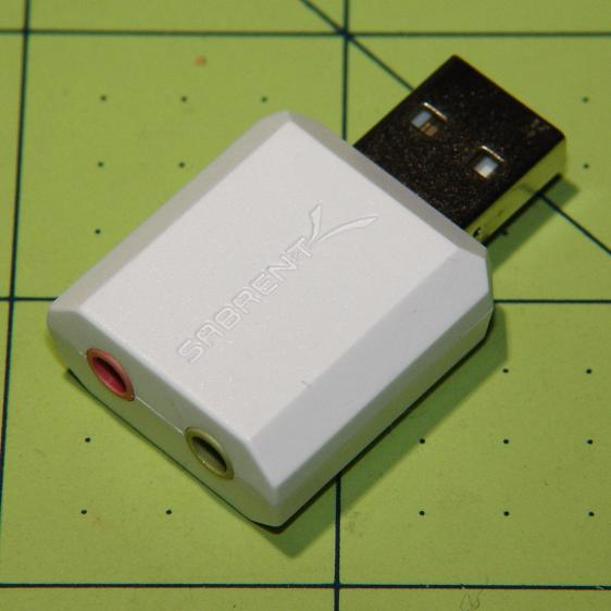 Sabrent USB Audio Adapter