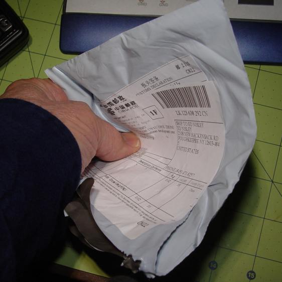 Unpadded LED Filament Envelope