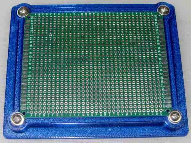PCB Protoboard - in holder