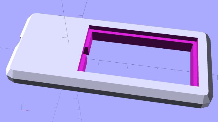 Chip On Board Heatsink Mount - Bandsaw Lamp - solid model
