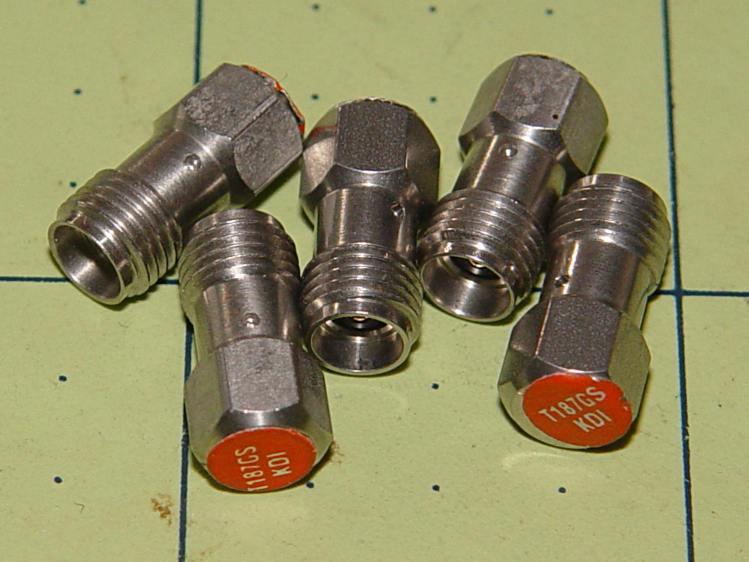 KDI T187GS - 50 ohm 1 W SMA attenuators