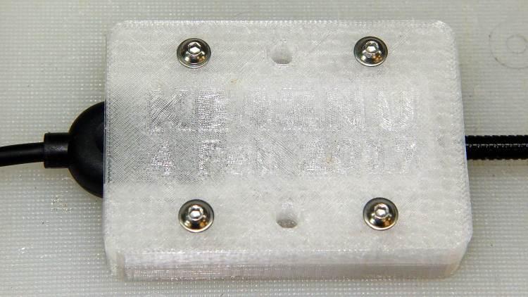 USB Gooseneck Mount - assembled