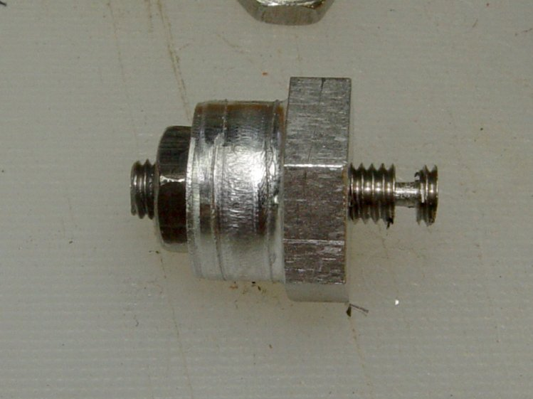 Screw cutting fixture - 10-32 - wrecked