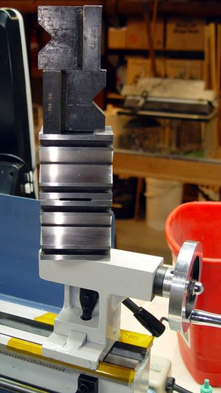 Tailstock way repair - weights