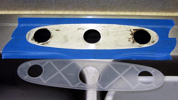 Kitchen Sink Faucet - gasket mask