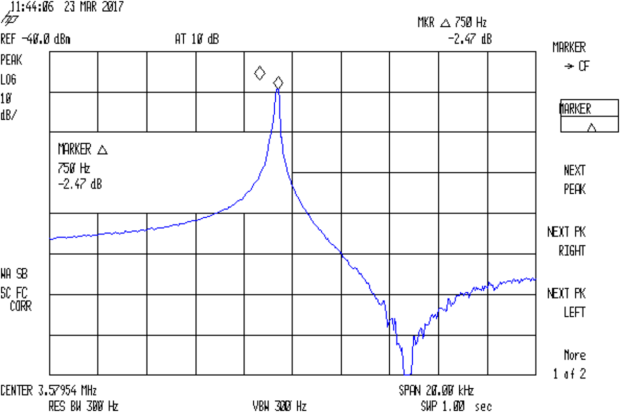 Quartz 3.57954 MHz - 36.4pF