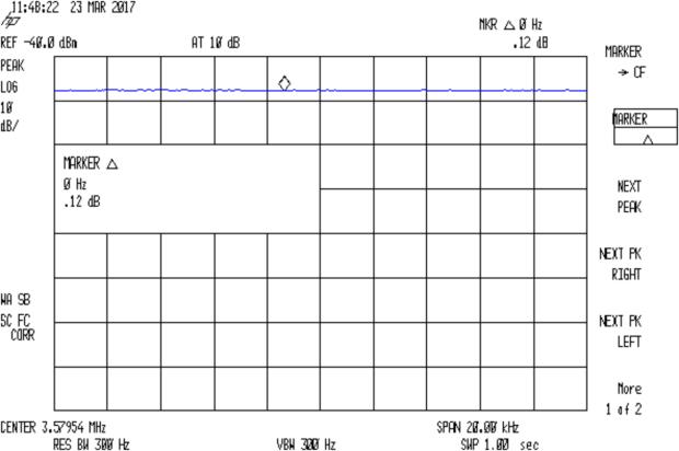 Quartz 3.57954 MHz - 72ohm