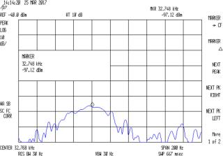 Quartz Resonator 32.763 kHz - 34.6 pF