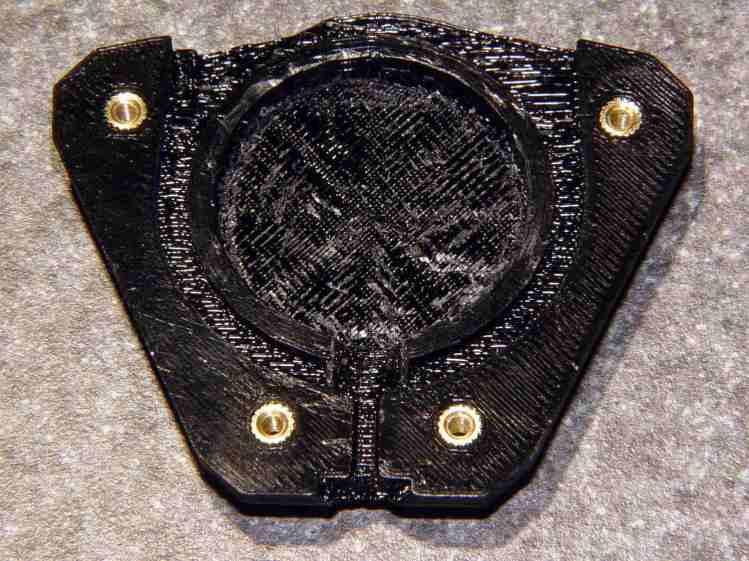 Badge Lanyard Reel - lower interior