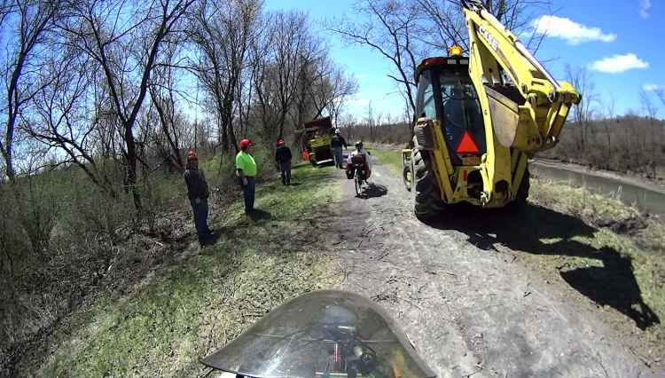 Feeder Canal Park Trail - Brush Clearing