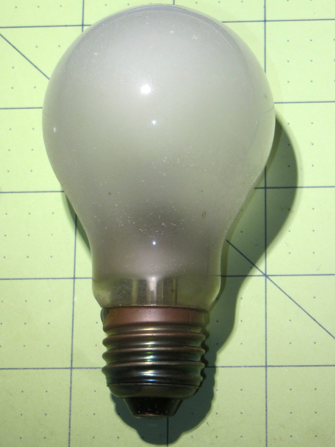 Some Things Last 100 W Incandescent Bulb The Smell Of Molten Projects In The Morning