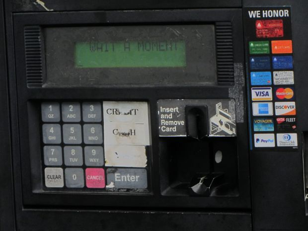 Gas Pump Keypad Abrasion