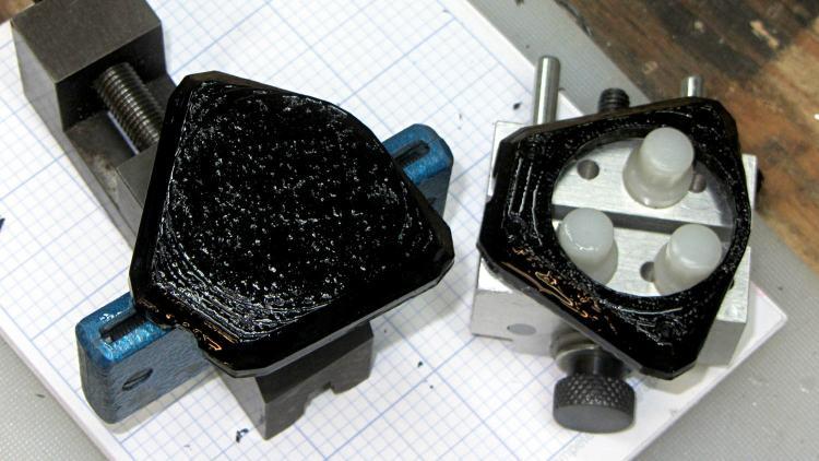 XTC-3D Epoxy - test pieces - holders