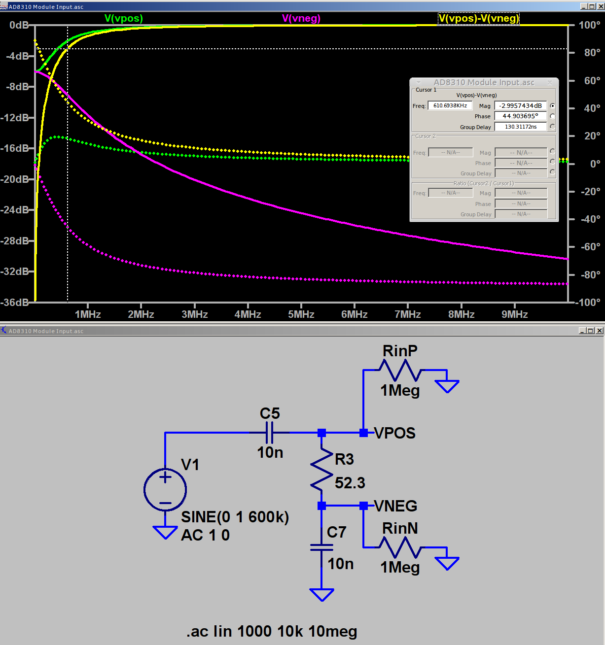 Ad8310 Log Amp Module Lf Response The Smell Of Molten Projects In Electronic Circuit Simulation Input