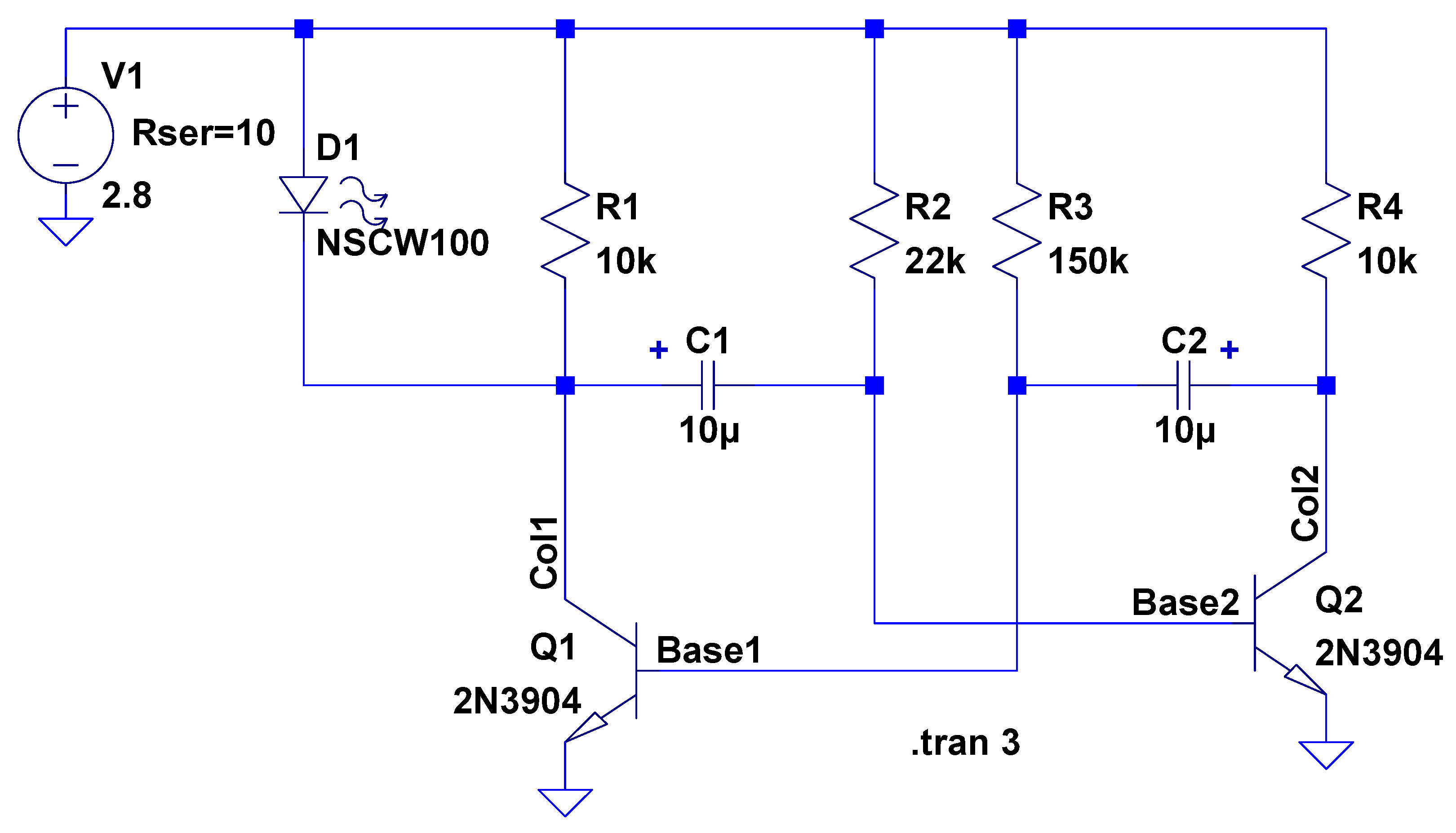 Electronics Workbench The Smell Of Molten Projects In Morning Circuit Diagram An Astable Multivibrator Using Operational Cr2032 Schematic