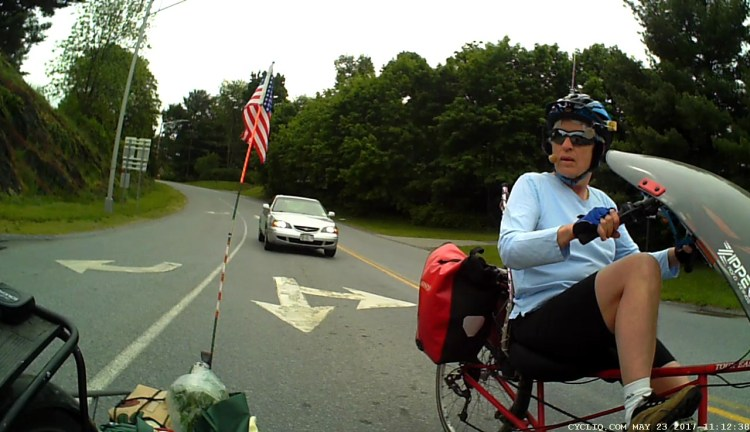 Burnett at Rt 55 - Right pass - 2017-05-23 - 1