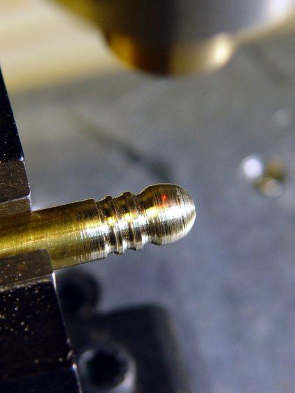 Badge Lanyard Reel - bullet cross-drill