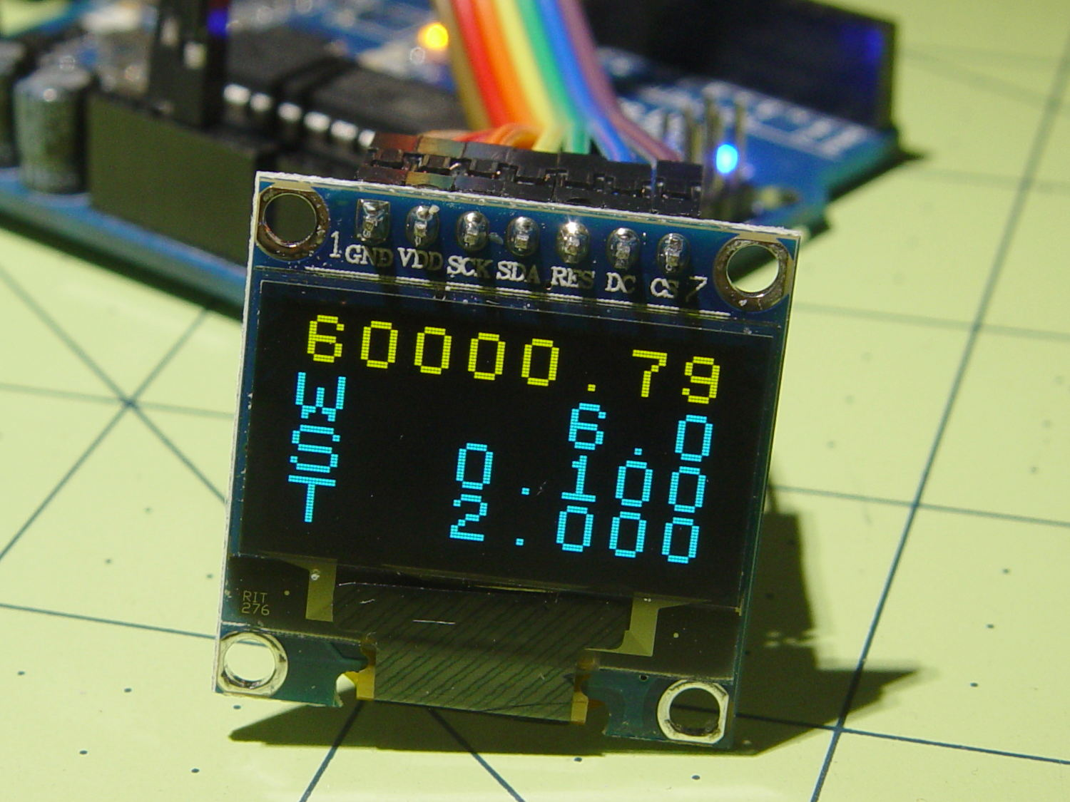 AD9850 DDS Module: OLED Display | The Smell of Molten Projects in