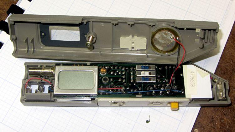 Beckman DM73 Circuitmate - case open