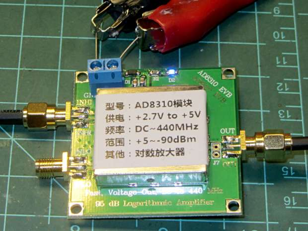 AD8310 Log Amp module - overview