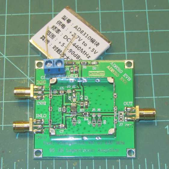 AD8310 Log Amp module - uncovered