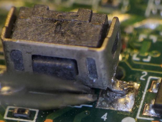 Kindle Fire power switch - failed anchor