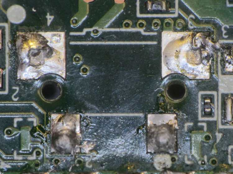 Kindle Fire power switch - failed anchor joints