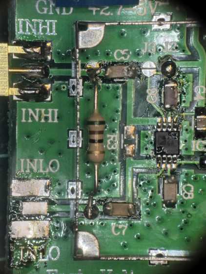 AD8310 Log Amp module - VBW rolloff cap