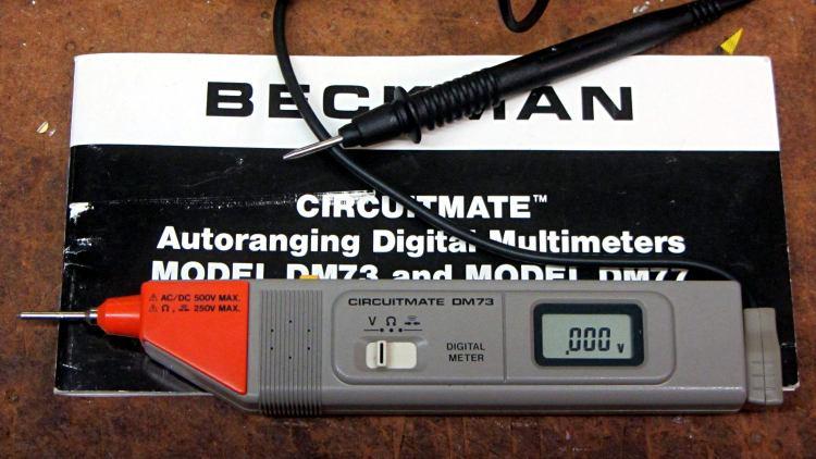 Beckman DM73 Circuitmate - restored