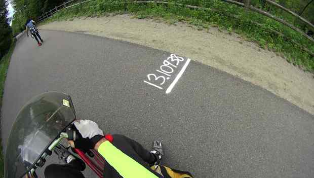 Rail Trail - Marathon 13.10938 mile marker