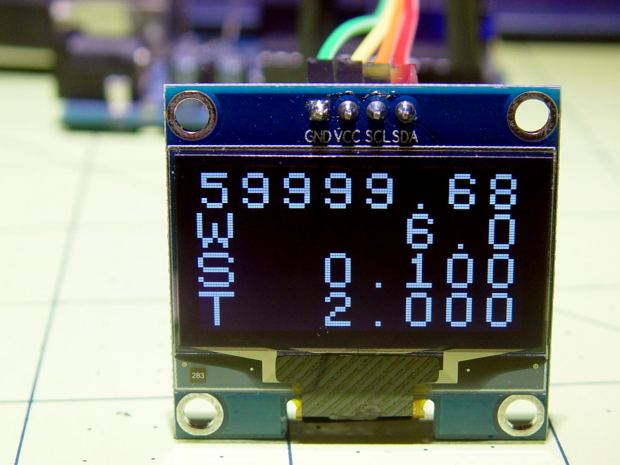 Arduino with OLED - white 1.3 inch