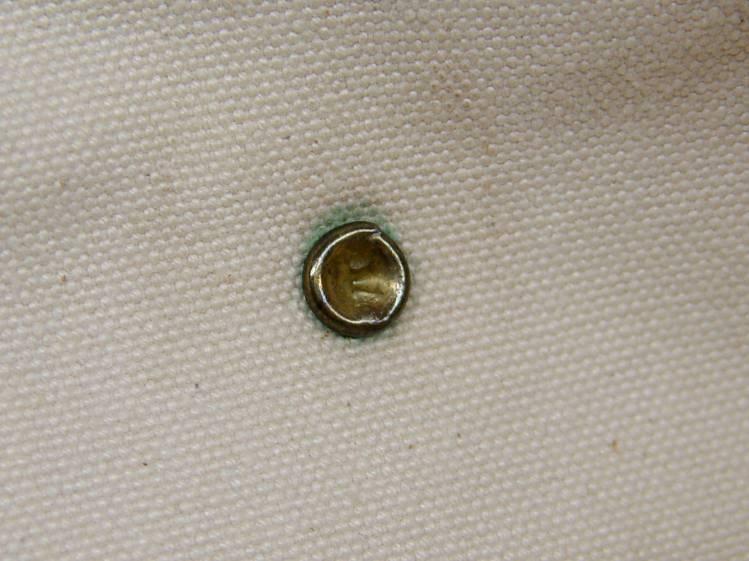 Handbag - intact rivet - inside