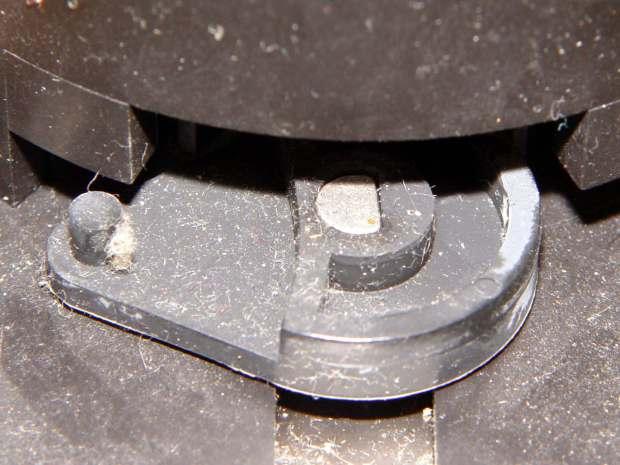 HP7475A Carousel - Geneva drive cam