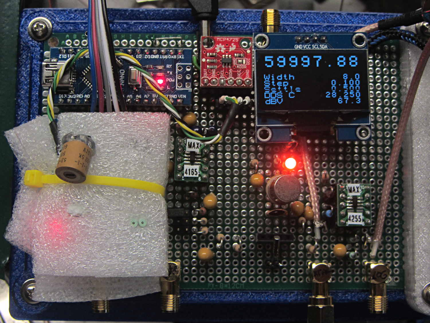 Sdr The Smell Of Molten Projects In Morning Page 5 Lm75 Temperature Sensor Schematic Lm75a Installed