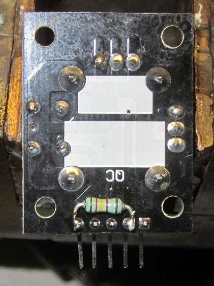 Keyes resistive joystick - button pullup